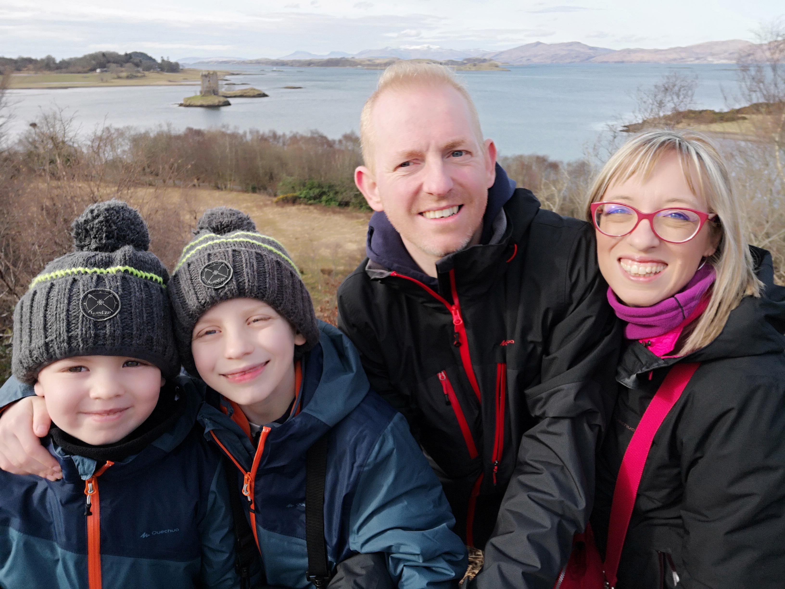 Una famiglia malata di Scozia