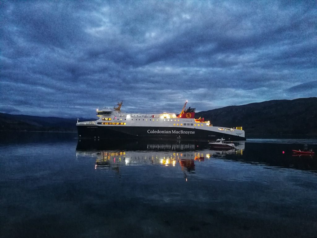 Calmac traghetto Scozia