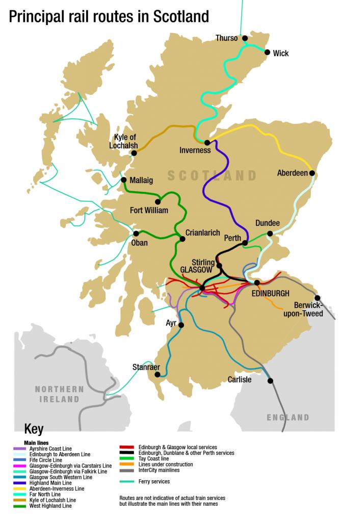 Mappa treni Sczoia