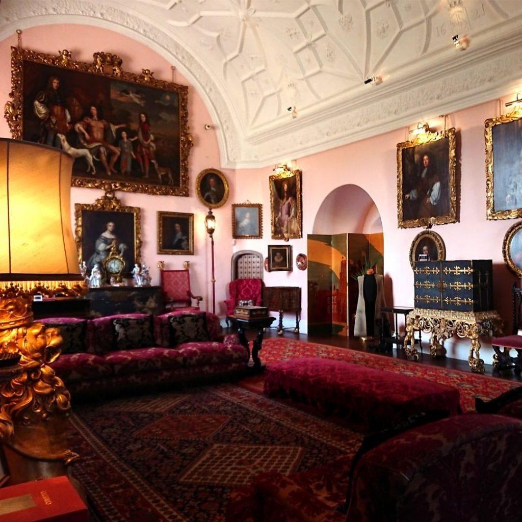Glamis Castle salotto
