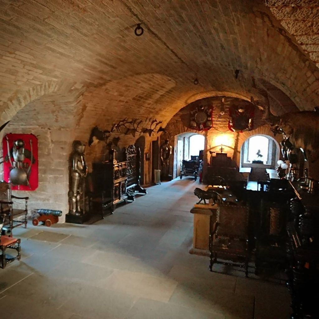 Glamis Castle Cripta
