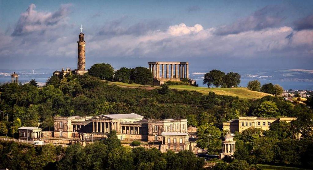 Calton Hill Edimburgo Misteri