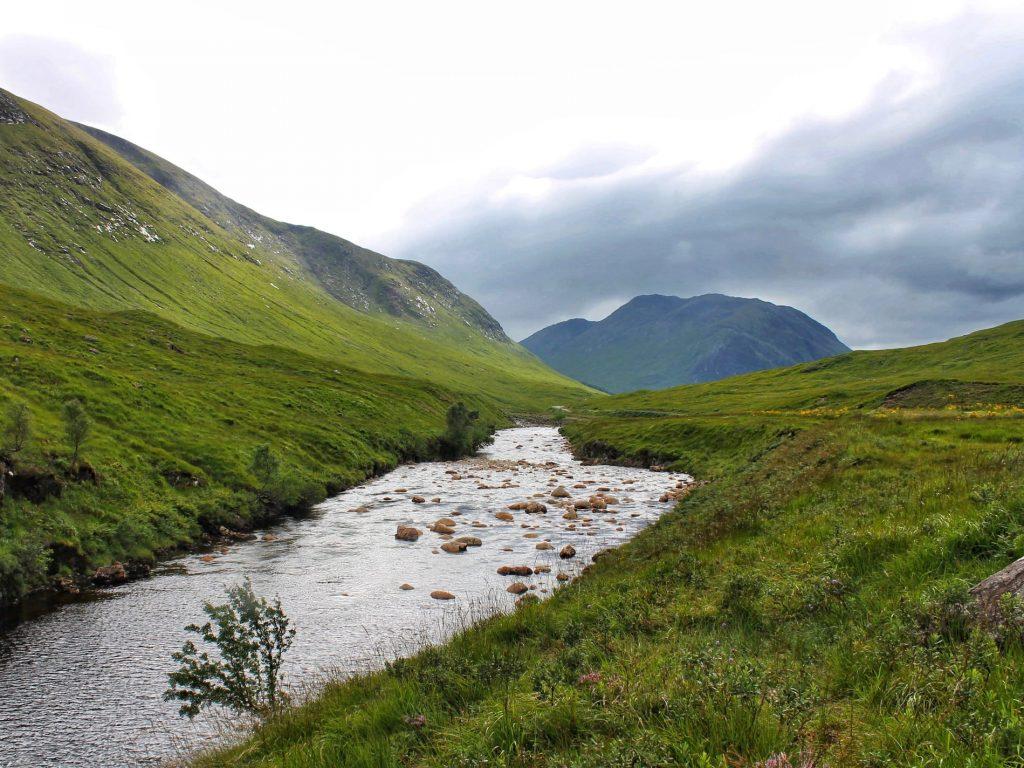 Glen Etive Scozia