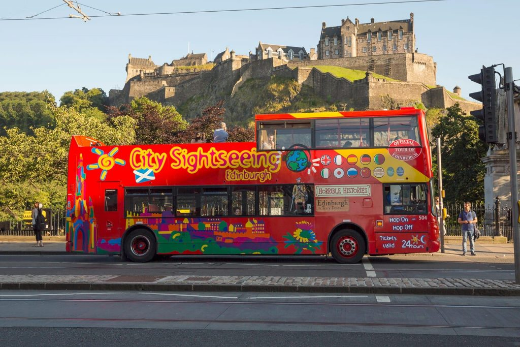 Bus Tours Edinburgh