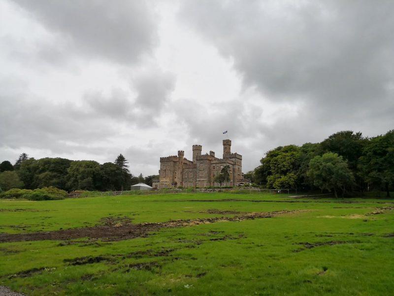 Lews Castle parco