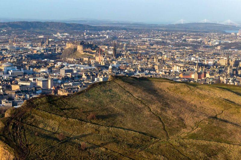 Edimburgo Arthur's Seat