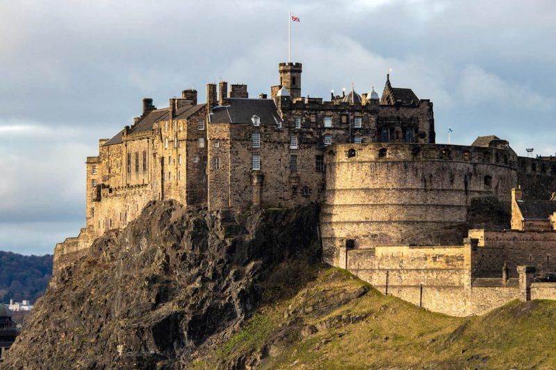 Edimburgo bambini castello
