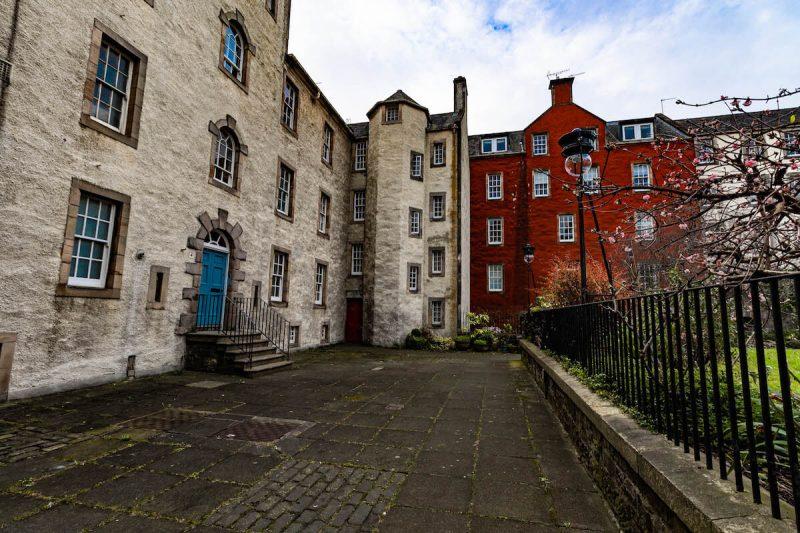 Giardini segreti Edimburgo