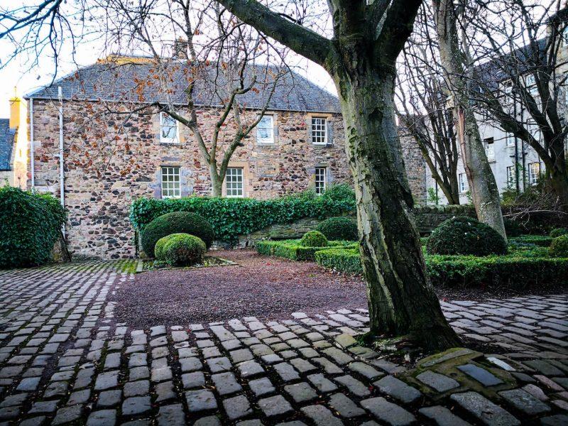 Giardini nascosti Edimburgo