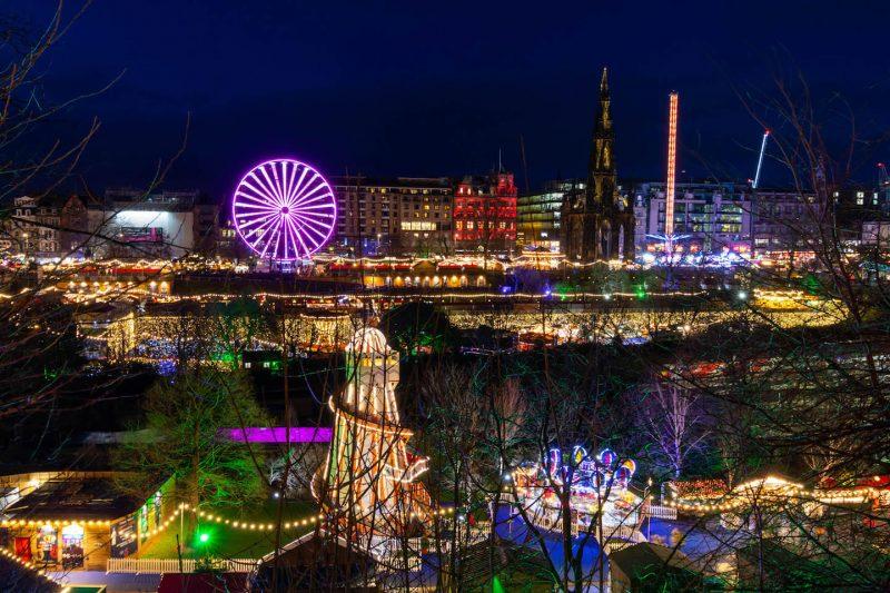 Edimburgo mercatini Natale