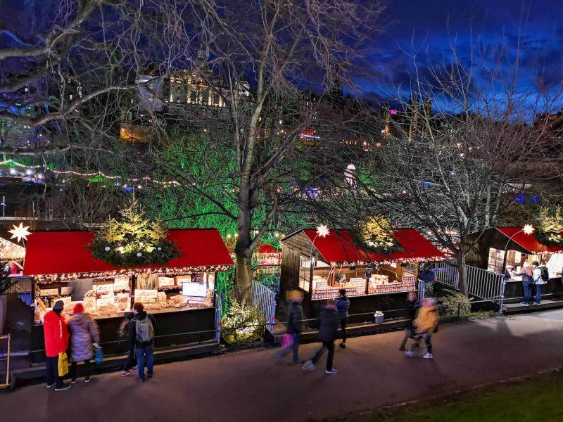 Edimburgo inverno mercatini