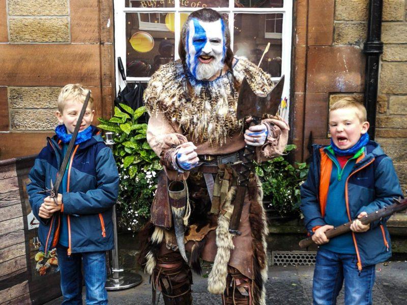 Edimburgo Frnge Festival famiglia