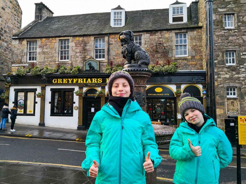 Edimburgo Bobby Greyfriars storia