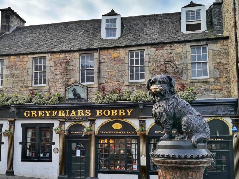 Greyfriars Bobby Edinburgo