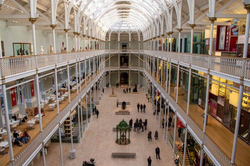 Edimburgo museo nazionale