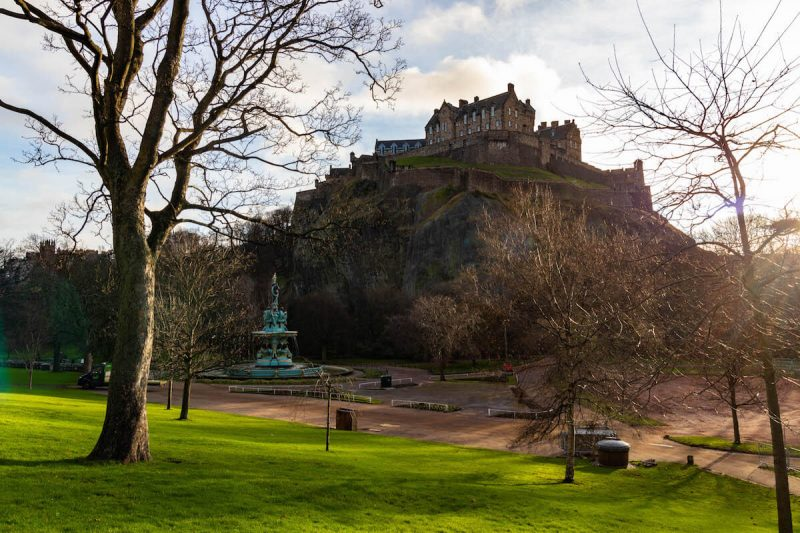 Pinces Graden Edimburgo