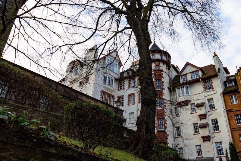 Edimburgo Ramsay Garden