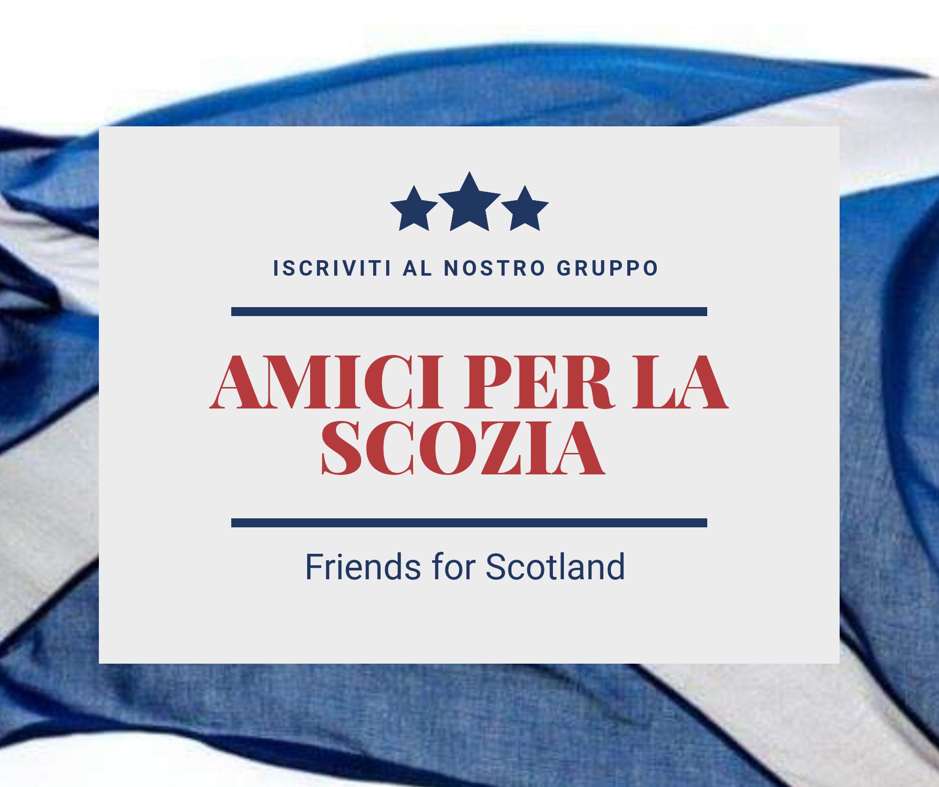 Amici per la Scozia