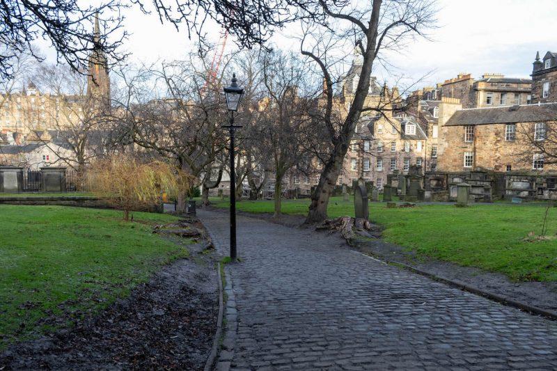 Greyfrias Kirkyard Edimburgo
