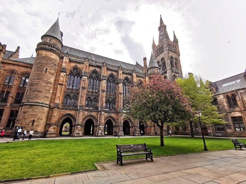Glasgow University giardini