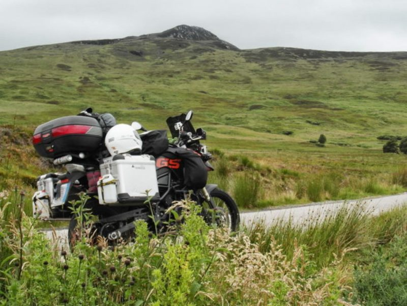 Moto in Scozia