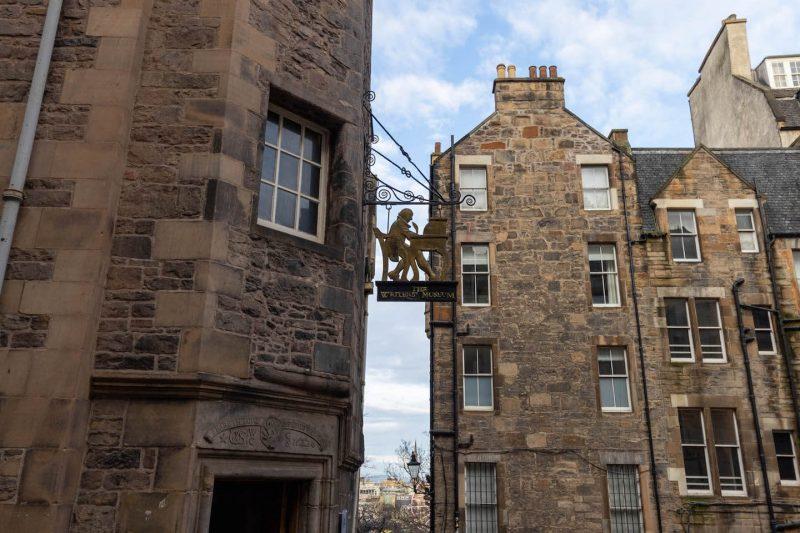 Lady Stairs Close Edimburgo
