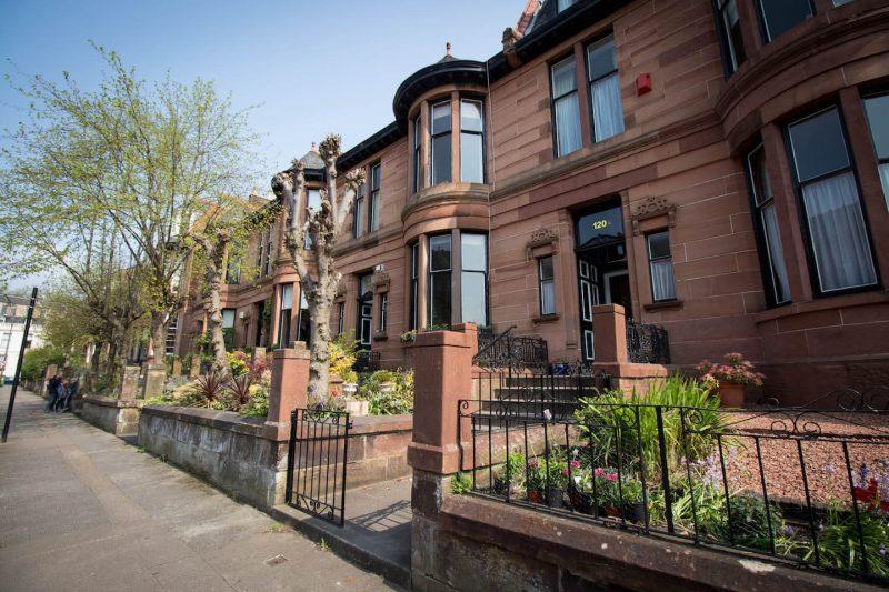 Glasgow Outlander Dowanhill Street