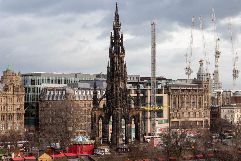 Edimburgo Scott Monument