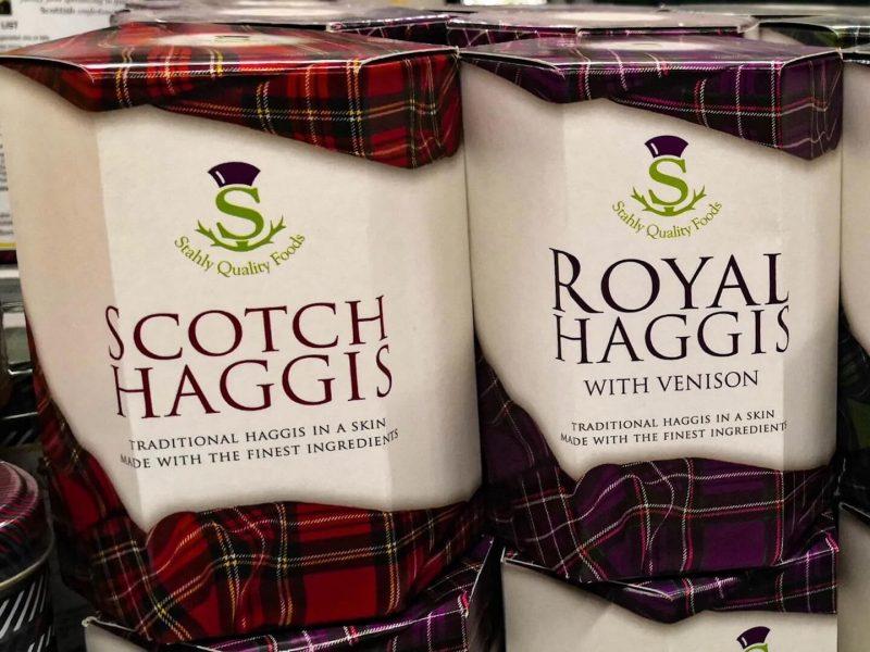Haggis piatto scozzese